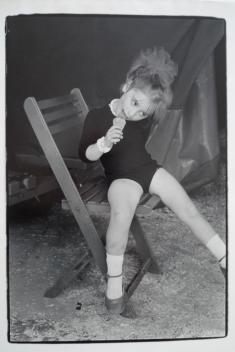 Das Foto stammt aus einer Serie über den Zirkus Roncalli