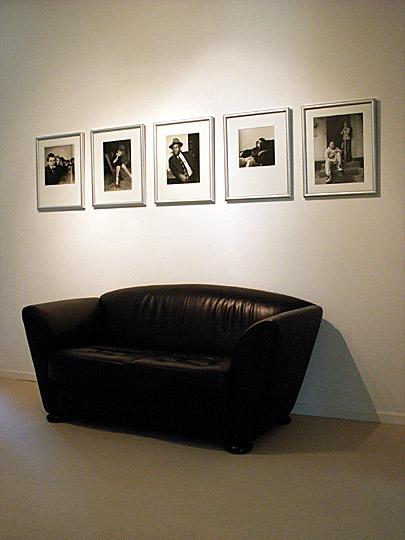 Rumlungern - das Gemeinsame an fünf unterschiedlichen Fotoarbeiten