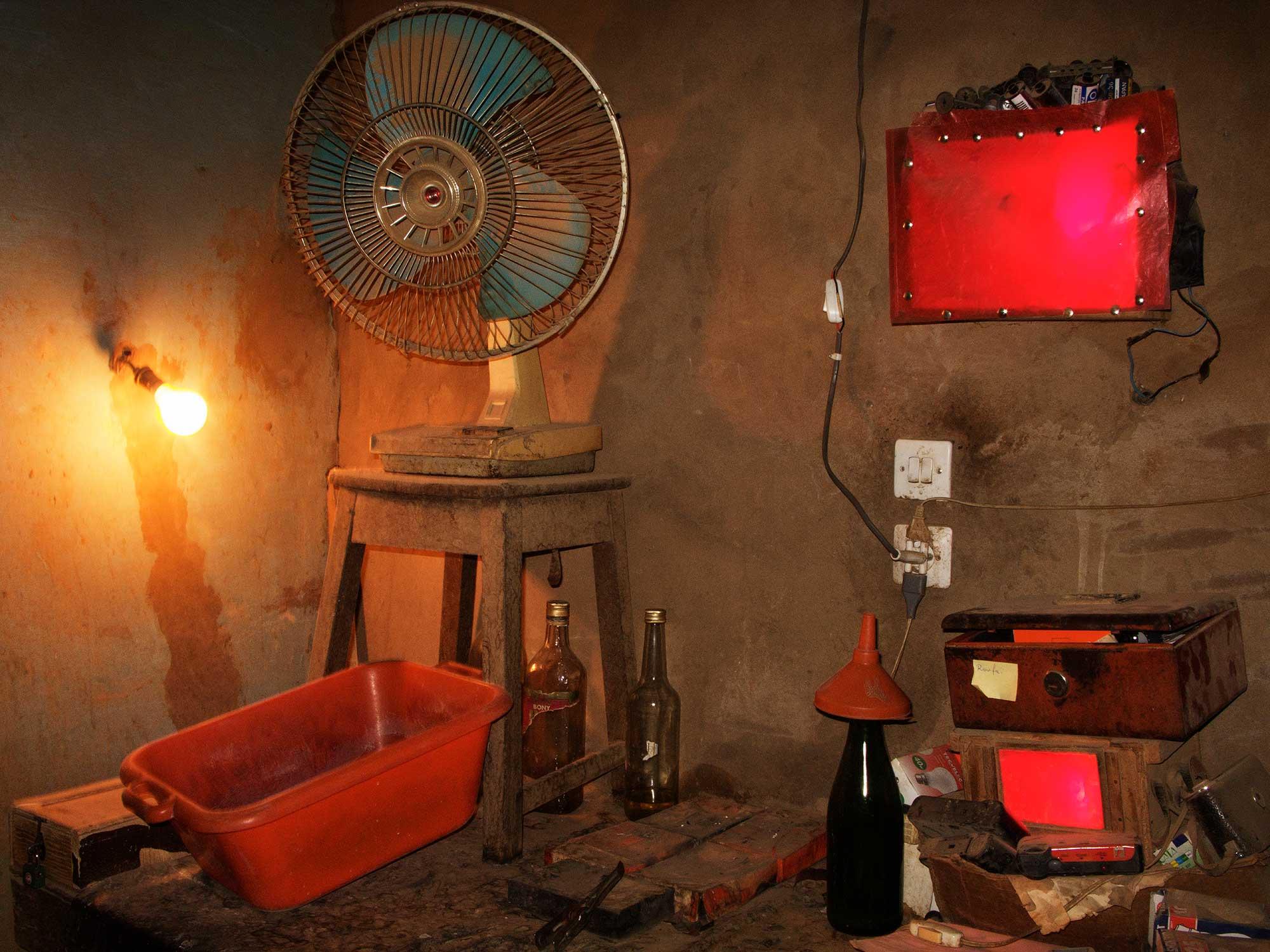 Dunkelkammer in Niger