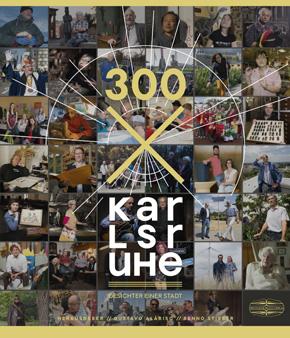 Karlsruhe x 300 Buchtitel