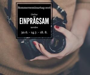 Sommerseminartag 2016