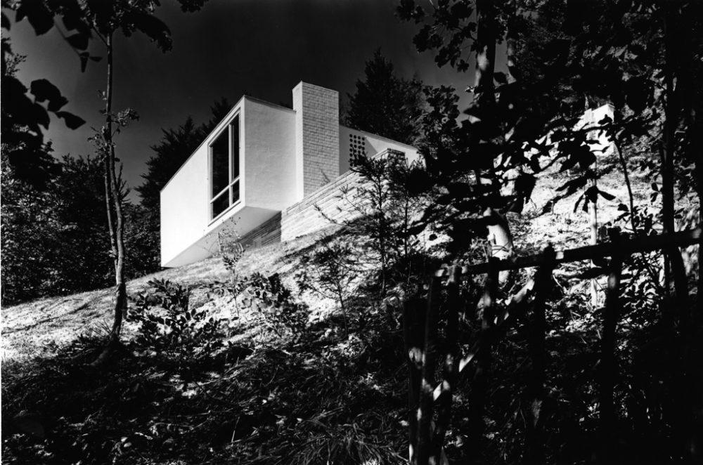 Modernistisches Wohnhaus